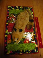 Vintage Tricky Raccoon Fox Magic Pet - SOLD by ellysketchit