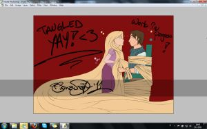 Tangled WIP by zimpo