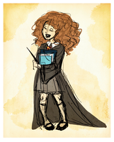 Hermione-First Year by SilverOceans