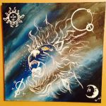 The Finish Product(The Lion) by pixiechanwilliams