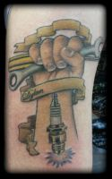 Spanner by state-of-art-tattoo
