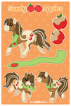 Sandy Apples Reference Sheet - New! by Sandy--Apples