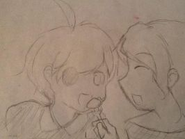 SIC and DIana cause welp by HetaliaXReader