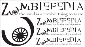 Zombiepedia Logo by splat