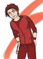 Bart Allen - Impulse by xKalisto