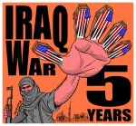 Iraq War 5 years D by Latuff2