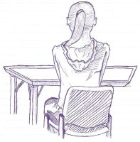 Girl in sociology by Syncratio400