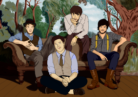 Mumford And Sons by Brokii