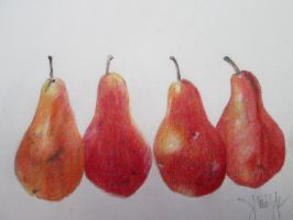 Lamy Red Pears by DVanDyk