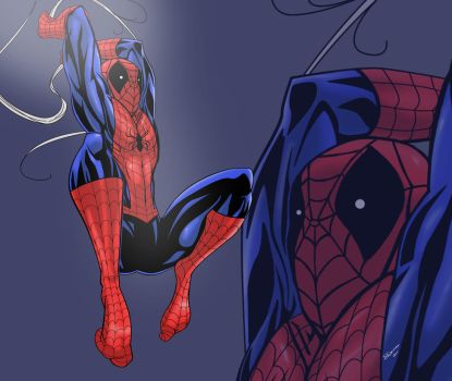Spider-Man Mouse Pad Design by Sean-Loco-ODonnell