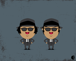 Blues Brothers by cdup999