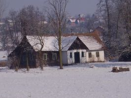 old house by marlene-stock