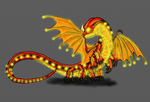 HTTYD-Fireworm by Scatha-the-Worm