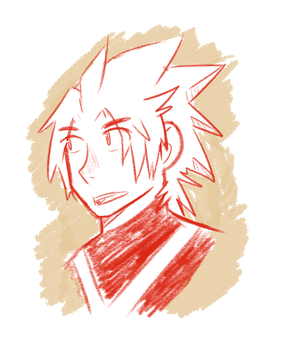 Terra Sketch by WaywardDoodles