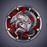 Shield of Valour by SalvadorGnarly