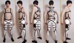 Attack on Titan 3DMG Harness by FluxTideDesigns