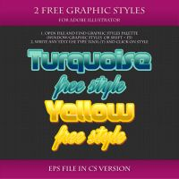 FREE Graphic Styles for Adobe Illustrator #4 by Love-Kay