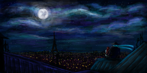 Rooftop Romance by Cindy-Brilliant
