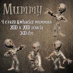 Mummy Pack by zememz