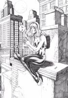 Spider Gwen by Deilson