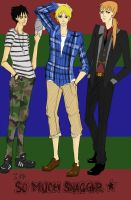 RRB: The Boys by erica-kun