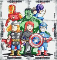 Marvel Beginnings 3 set 11 by wardogs101