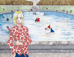 APH- Welcome to Luxembourg Garden! by BloodKaika