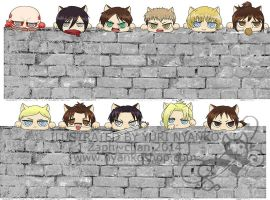 Attack on Titan in the Wall by Zaph-chan