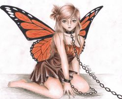 Caught Butterfly by Michelle114
