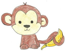 Cute Little Monkey by WeabooAwesomeness