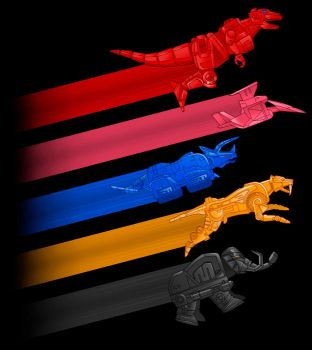 Zords by MIKELopez