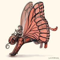 Butterfly Mount 2 by Sheharzad-Arshad