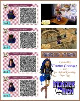 Robecca Steam outfit for Animal Crossing by Countess-Grotesque