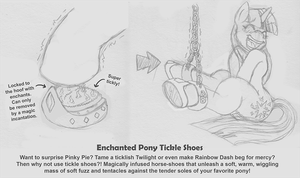 Enchanted Pony Tickle Shoes by Caroos-Dungeon