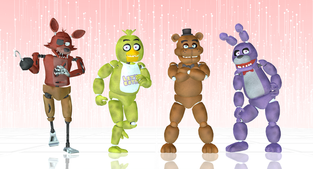 Welcome Five Nights At MMD! by Jakkaeront