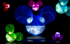 deadmau5 wallpaper No Logo by darkdissolution