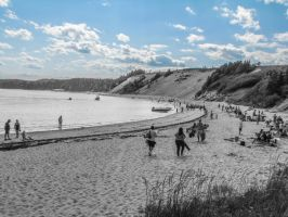 Sandy Cove by Lawrenceevoy