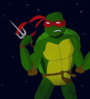 Raphael - TMNT by candlehat