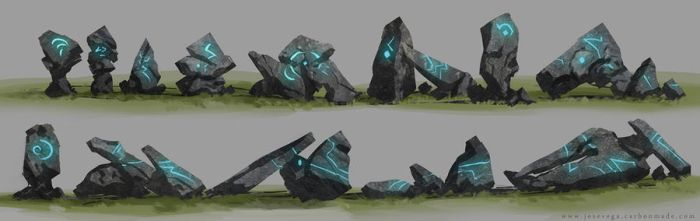 Rock concepts by artofjosevega