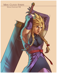 MISS CLOUD STRIFE by Pryce14