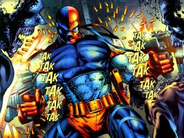 Deathstroke Wallpaper. by TheRezidentEvil