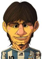 lionel andres messi by vagebone
