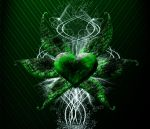 Green Winged Heart by bloodbendingmaster97