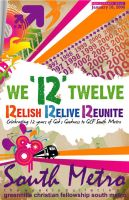 12th Anniv Bulletin Cover by artjective