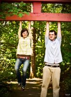 P and S Engagement 06 by juhitsome