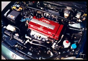 B16A3 DOHC Engine by MugenB16
