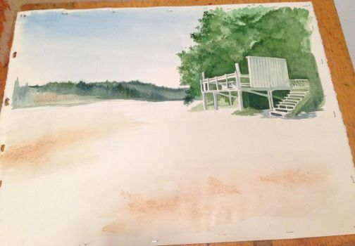 View of Fletcher Bay WIP 1 by fluffys-inu
