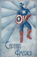 Captain America by Morloth88