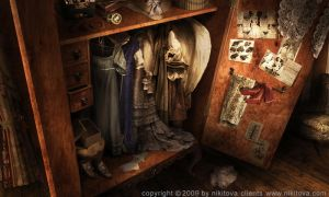 Sweeney Todd Armoire by kidy-kat