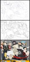 Soul Eater: Process by digitalninja